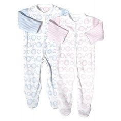 Baby girl clothes#12% Discount#Twotara Baby Girls/Boys Newborn Reversible Pink/Blue Footie Romper