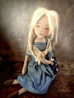 hadrová panenka - doll