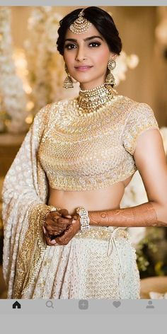 Indian Attire, Indian Outfits, Beautiful Bride, Beautiful Dresses, Wedding Hairdos, Wedding Attire, Wedding Dresses, Indian Princess, Punjabi Bride