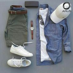 """29 Me gusta, 2 comentarios - men outfits (@menoutfits_style) en Instagram: """"Men Outfits guideline page #men #outfits #watches #shirts #pents #denim #glasses #snackers #shoes…"""""""