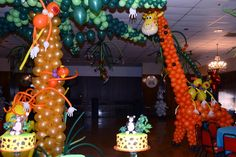 Decorating ideas with balloons birthday party