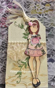 Prima Doll Stamp  Cricut Art Philosophy Cartridge