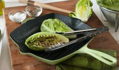 Tanimura & Antle - Recipes - Grilled Romaine with Balsamic Glaze