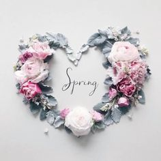 Find images and videos about flowers, heart and spring on We Heart It - the app to get lost in what you love. Spring Art, Spring Time, Month Flowers, Avas Flowers, Seasons Months, Fb Cover Photos, Hello Spring, Flower Backgrounds, Creative Photos