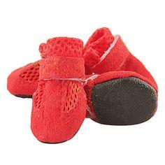 Perros Zapatos y Botas Mantiene abrigado Invierno Un Color Rojo / Azul / Negro / Rosado Algodón 748224 2016 – €4.89