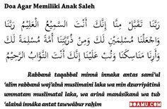 """""""Ya Tuhan kami, terimalah (amal) dari kami. Sungguh, Engkaulah Yang Maha Mendengar, Maha Mengetahui. Ya Tuhan kami, jadikanlah kami orang yang berserah diri kepada-Mu, dan anak cucu kami (juga) umat yang berserah diri kepada-Mu dan tunjukkanlah kepada kami cara-cara melakukan ibadah (haji) kami, dan terimalah tobat kami. Sungguh, Engkaulah Yang Maha Penerima tobat, Maha Penyayang."""" (QS. Al Baqarah [2]: 127-128)"""