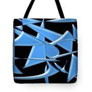 Dancing In The Ocean Tote Bag by Laura Greco
