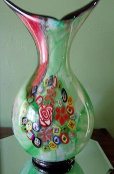 1 of a Kind Outstanding Vintage Milano Art Glass by Great1Treasure, $189.99