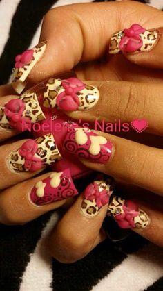Acrylic nails by Noelene