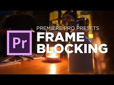 FrameBlocking Transition tutorial preset for Adobe Premiere Pro CC by Chung Dha - YouTube
