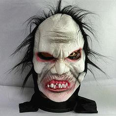 2017 Hot April Fool's Day joke toy Prank Prop Angry Zombie Full Head Mask for Carnival Parties Costume Cosplay Halloween Mask