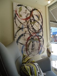 * T h e * V i s u a l * V a m p *: The Best Eclectic Home In New Orleans - circle art