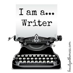 I am a...Writer Blog Hop - Beauty in the Mess