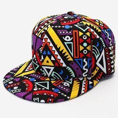 Geometric Snapback Unique Snapbacks Adjustable Hats 015