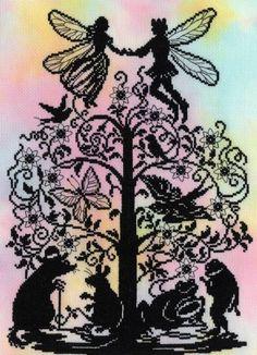 Thumbelina Cross Stitch Kit £30.20   Past Impressions   Bothy Threads