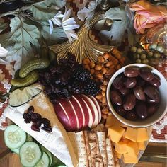 Rustic cheese platter | HostedwithLove.com