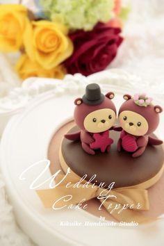 Wedding Cake Topper- love otter | Flickr - Photo Sharing!