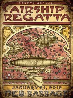 New Babbage Airship Regatta (SL)