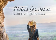 """Are you living for Jesus for all the right reasons, or are you running on stale faith and """"spiritual muscle memory""""? http://candidlychristian.com/reality-check/"""