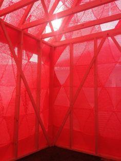 Isabel Berglund, Maskernes hus på Mors- A social project Social Projects, Craft Projects, Knit Art, Installation Art, Fiber Art, Affair, Modern Art, Street Art, Therapy