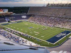 Rice Stadium; Rice University Owls -- Houston, Texas.