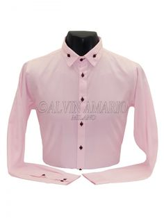 Mens Designer Pink Colour Stylish Casual formal Party Wear shirt