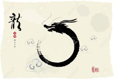 dragon chinese ink art - Google Search More