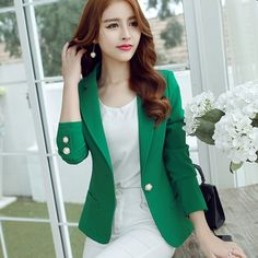 Deals and Offers on Women Clothing - Small suit female Korean Slim 2015 new winter coat at 50% offer