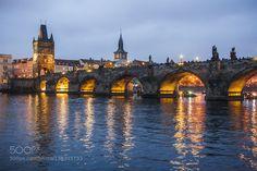 Charles Bridge (Prague) by lukasnovak