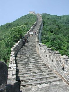 Great Wall of China- a steep section DEMAISS