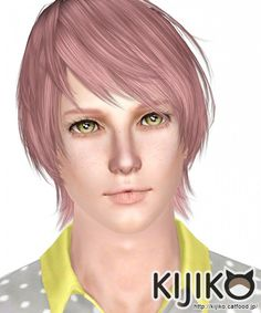 Onion Knight AM Japanese Bob Tail by Kijiko - Sims 3 Downloads CC Caboodle