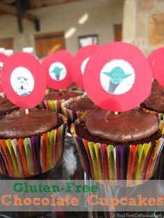 Simple gluten-free chocolate cupcakes recipe (kid-approved!)