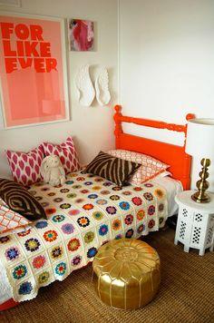 ANTES Y DESPU�S de 1 dormitorio infantil COLOURFULL