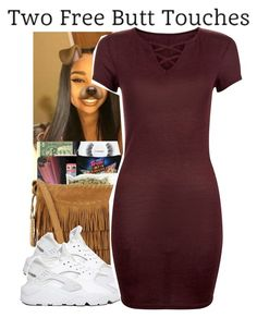 """4-27-2017 10:55 PM EST"" by kaydabae4life ❤ liked on Polyvore featuring NIKE"