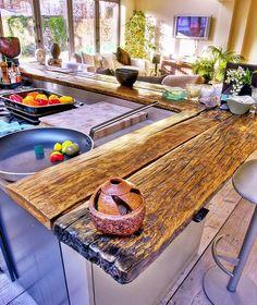 Plan de travail en bois pour votre cuisine | BricoBistro