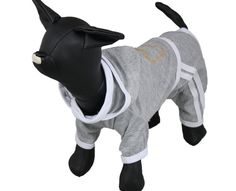 FastPet Pet Sportswear Coat Dog Rhinestone Clothes Gray > More infor at the link of image  : Costumes for dog