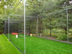 I like the concept of putting lights on the poles. Batting Cage Kits & Replacement Nets | Promounds