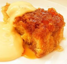 Scrumptious South Africa: Steamed Ginger Pudding: classic English comfort food