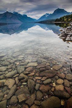Lake McDonald, Glacier National Park, Montana by Aaron Aldrich.