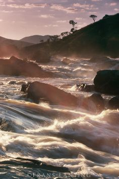 Mahajilo river rapids, Central Madagascar