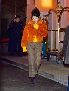 Selena Gomez Photos, Selena Gomez Style, New York January, Marie Gomez, Her Style, Love Her, Outfits, Fashion, Moda