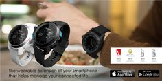COOKOO™ the connected watch - COOKOO app available on App Store