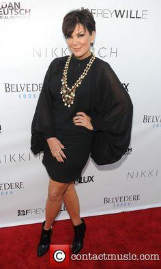 Kris Jenner Alaia Dress ec ac b f d