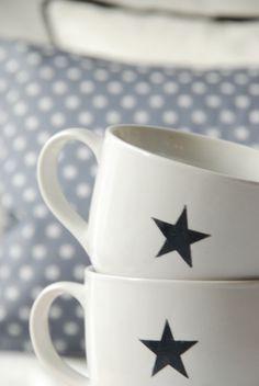 stars make me happy.so do coffee mugs.