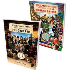 Kit Livros - Guia Politicamente Incorreto da Filosofia+ Guia Politicamente Incorreto da América Latina