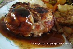 Les plats cuisinés de Esther B: Sauce brune sucrée pour poulet Esther, Bbq, Muffin, Breakfast, Amor, Brown Sauce, Sweet Sauce, Sugar, Cooking Recipes
