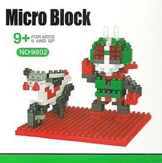New Kamen Masked Rider Motorcycle Lego Type Mini Building Block DIY Boy Girl 9+ #LINKEPATO