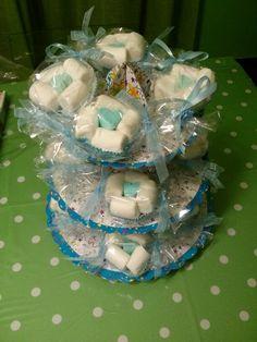 Muffin di marshmallows