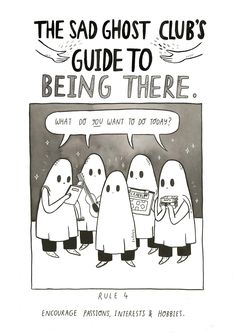 Doing something that you used to do can help you remember what makes you happy Our #guidetobeingthere will be our 3rd guide and is coming out later this year! store//facebook//pinterest//twitter//youtube//instagram