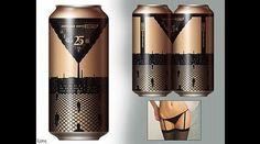 Estas son las latas de cerveza más sexys del planeta